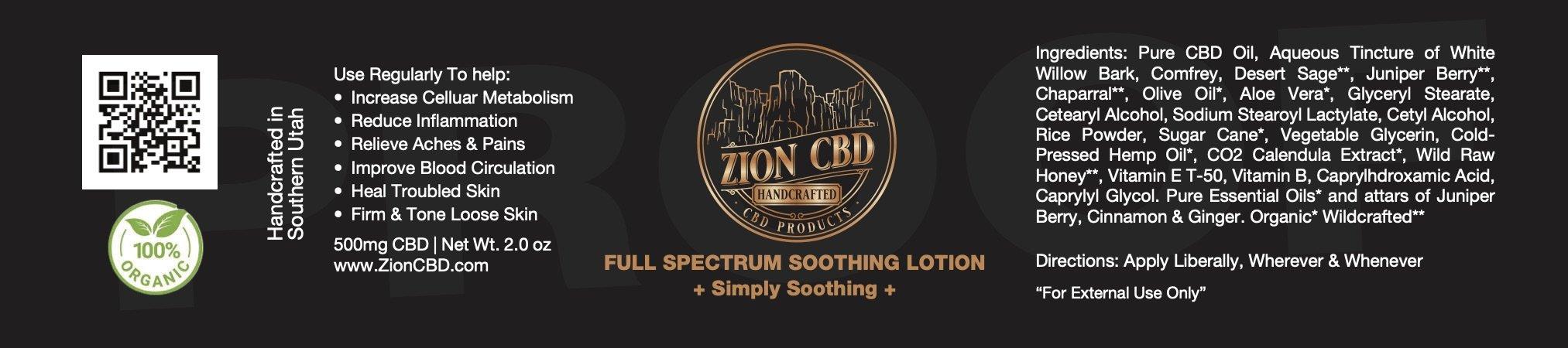 Zion Label Black